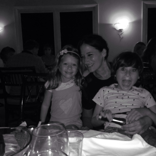 Dani and kids